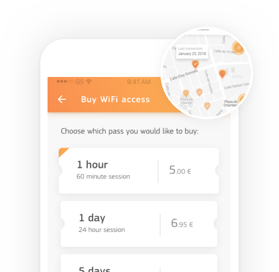 Keep connected with the WiFi app using WiFi promo codes or passes | Fon